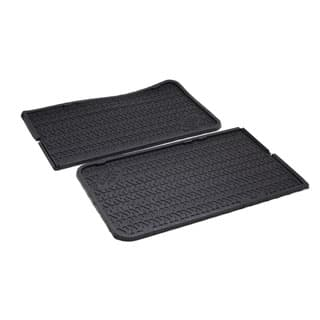 GENUINE RUBBER MAT SET  MIDDLE FOOTWELL   DEFENDER 110 SW