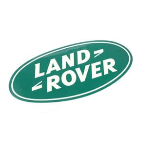 """Decal """"Land Rover"""" Oval 8"""" X 4"""""""