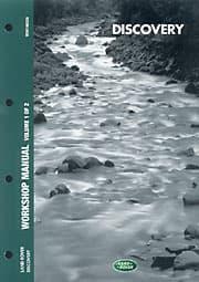 WORKSHOP MANUAL DISCOVERY II 1999-