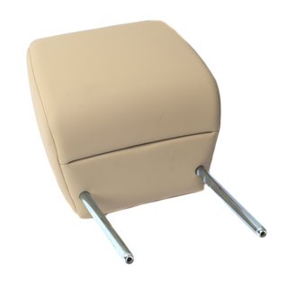 Leather Headrest Beige Defender