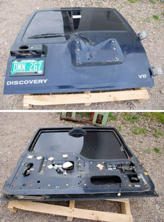 Used Rear Door Discovery I