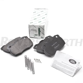 Brake Pad Set Front  Defender With Vented Discs 1994 -2014