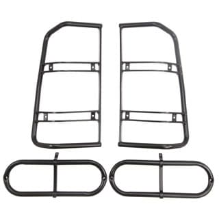 LAMP GUARDS  REAR SET     DISCOVERY II  STEEL