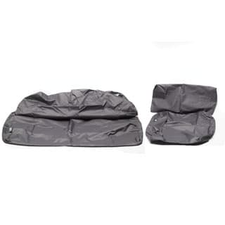 Seat Cover Set 60/40 Middle Row Grey Defender 110Sw
