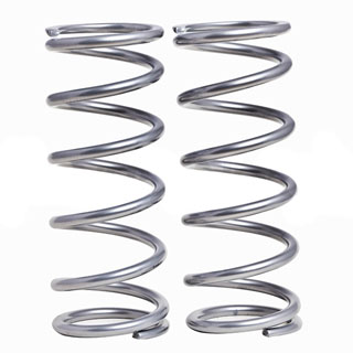 "TERRAFIRMA +2"" MEDIUM DUTY COIL SPRING SET REAR MEDIUM LOAD DEFENDER 110 1984-2011"