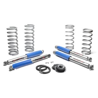 Plus 2 Inch Heavy Duty Coil Spring Conversion Kit By Terrafirma For Discovery II