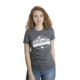 American Apparel Mountain Womens Shirt in Asphalt