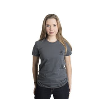 American Apparel Series IIA Womens Shirt in Asphalt