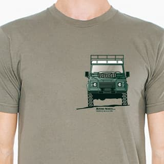 T-SHIRT DEF 110 OLIVE MENS LARGE