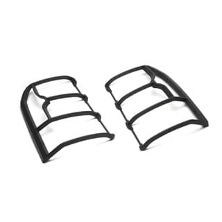 LAMP GUARD SET BLACK MOULDED REAR LR4