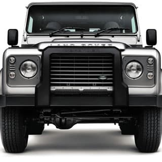 A Frame Nudge Bar For Defender Without a Winch