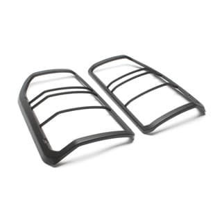 LAMP GUARDS SET REAR PAIR LR3 PLASTIC