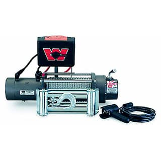 Warn Xd9000 Winch w/Roller Fairlead