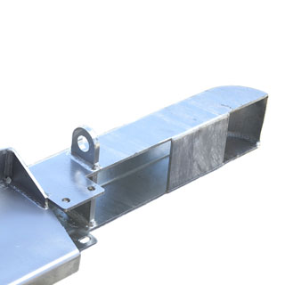 Front Winch Bumper Series II, IIA, and III