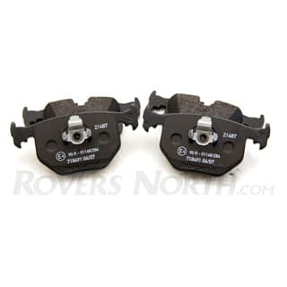 BRAKE PAD SET REAR AXLE M62 BMW 2003-2005 - GENUINE