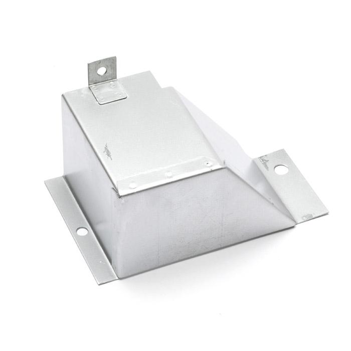 SPLASH GUARD STEERING BOX SERIES II-IIA RHD GALV