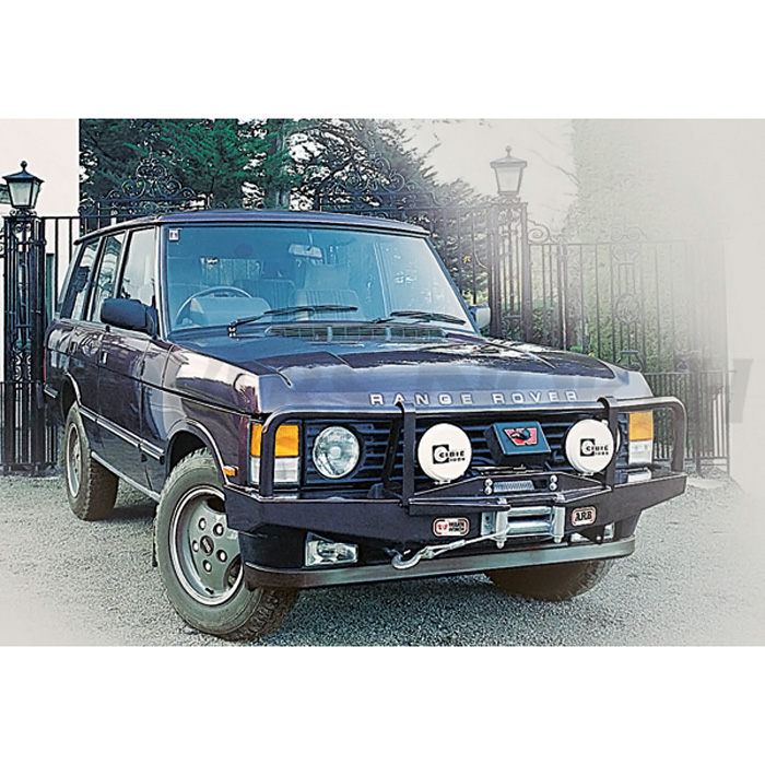 Winch Bumper With Led Lights By Rovers North For Discovery: WINCH BAR RANGE ROVER CL W/WINCH FACILIT, 3430020
