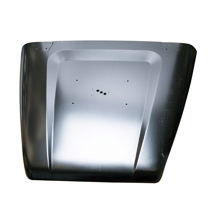 BONNET ASSEMBLY  WITH MOUNTING HOLES FOR SPARE WHEEL CARRIER