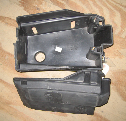 MOUNTING BOX E.A.S. FOR P38A