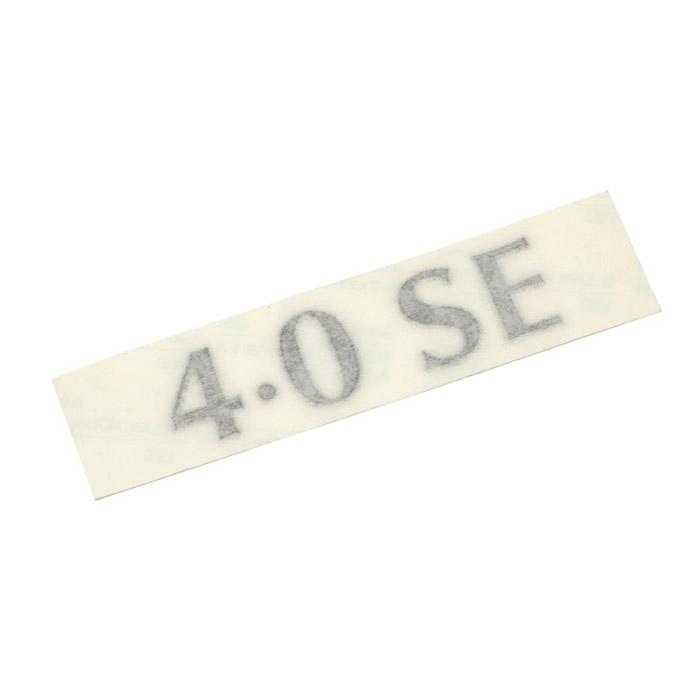 "DECAL ""4.0 SE"" 38A RANGE ROVER BASALT"