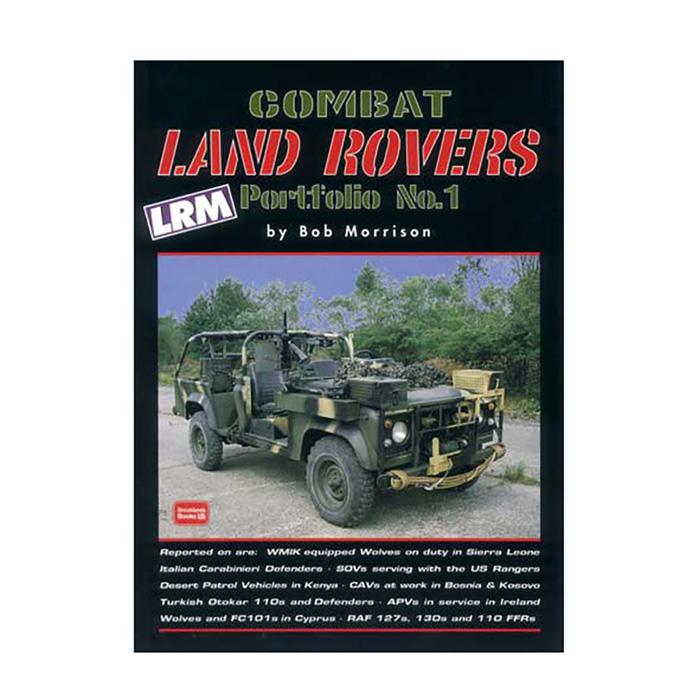 COMBAT LAND ROVERS PORTFOLIO #1 BOB MORRISON