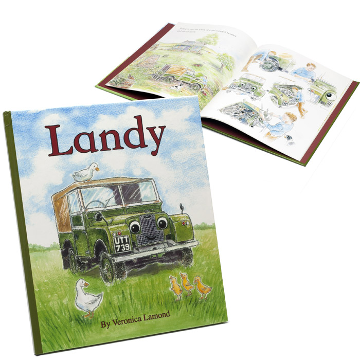 LANDY CHILDRENS BOOK
