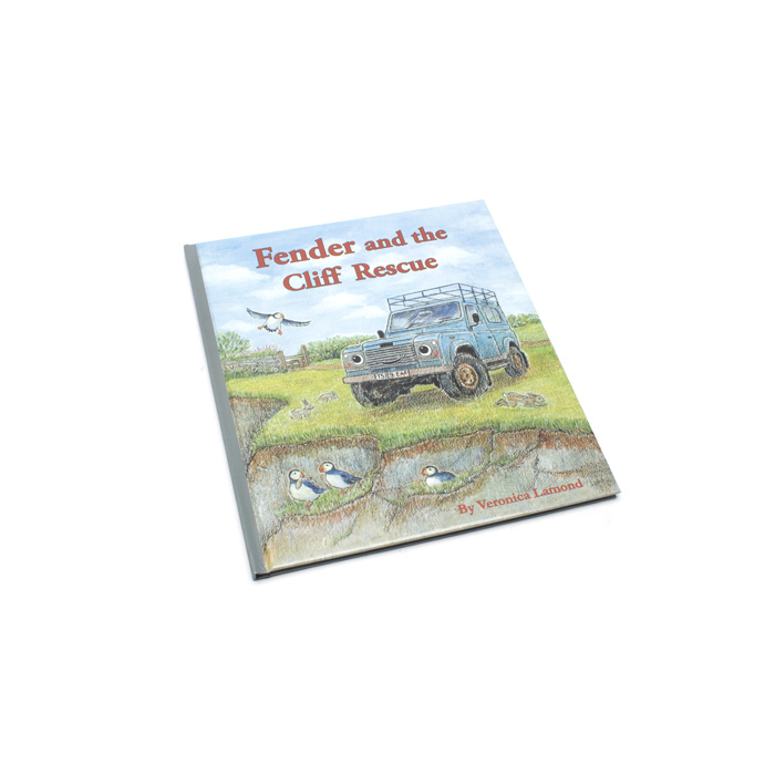 FENDER & THE CLIFF RESCUE CHILDRENS BOOK