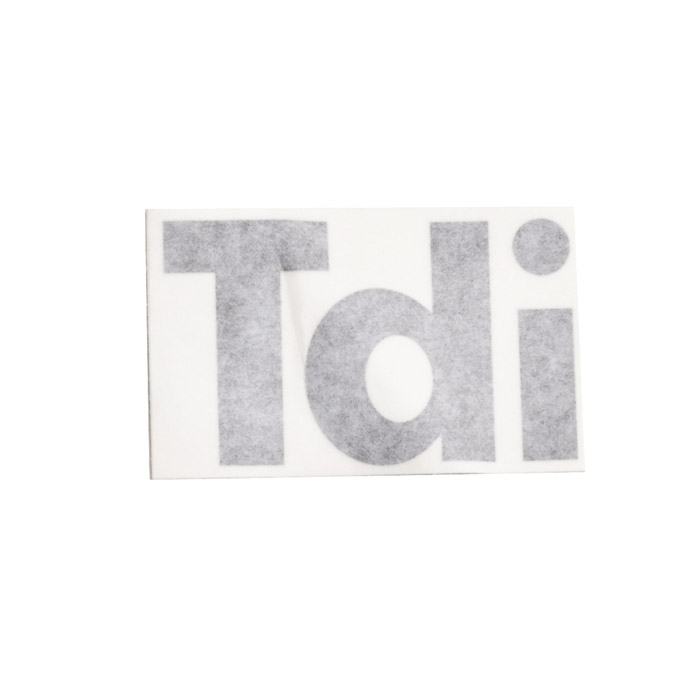 "DECAL  ""Tdi"" FRONT WING   DEFENDER 90/110 LIGHT GREY"