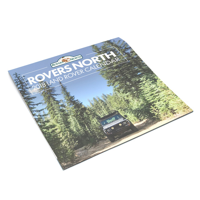 2018 Calendar by Rovers North