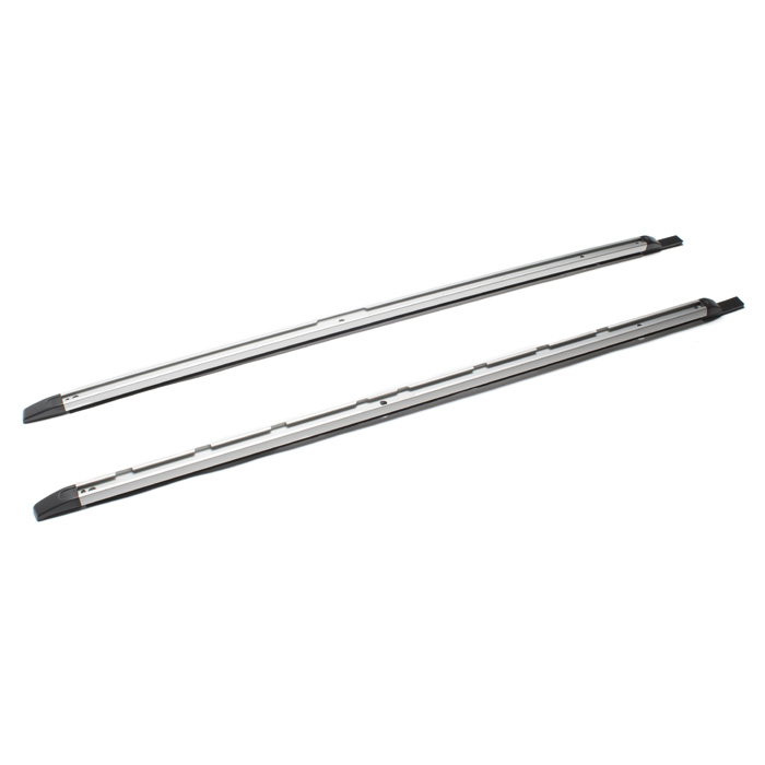 ROOF SIDE RAIL KIT LR3/LR4 BRIGHT FINISH