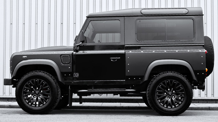 Kahn Wide Body Kit Defender 90 Rovers North Land Rover