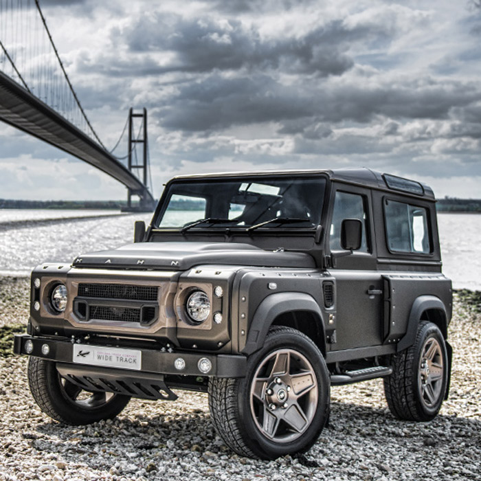 kahn wide body kit defender 90 rovers north land rover parts and accessories since 1979. Black Bedroom Furniture Sets. Home Design Ideas