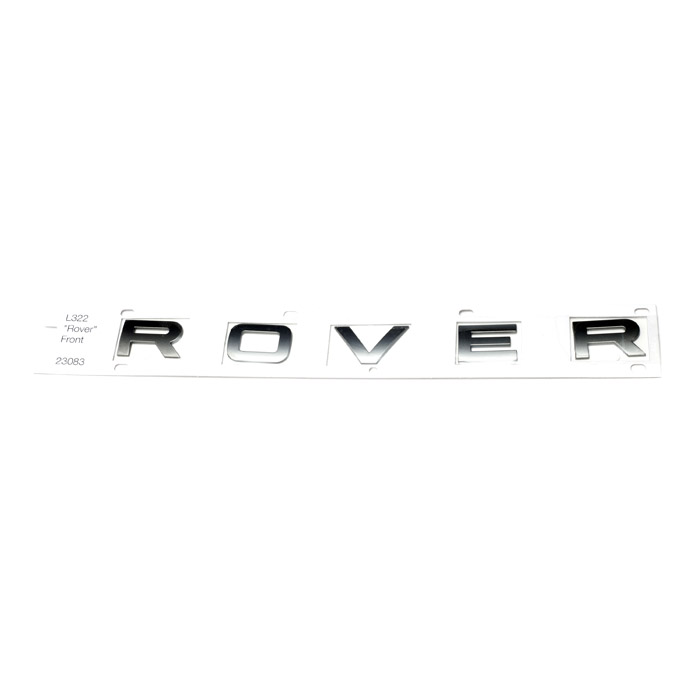 "DECAL BONNET ""ROVER"" L322 RANGE ROVER 2002-2009"