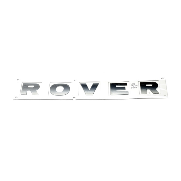 """DECAL CHROME """"ROVER"""" DISCOVERY II"""