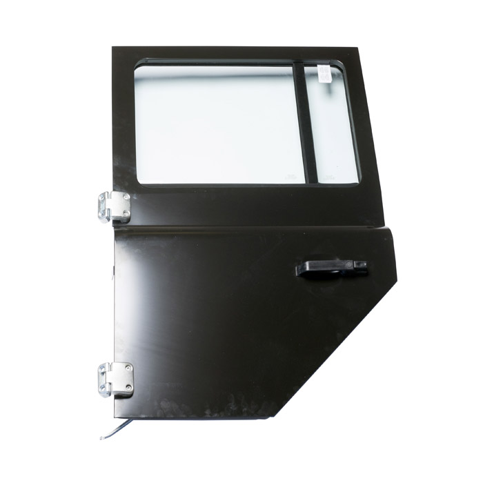 MIDDLE DOOR ASSEMBLY LH  ECOAT BLACK w/ BLACK INTERIOR