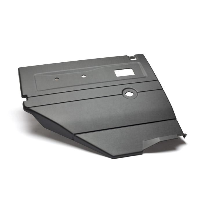 TRIM PANEL LHR SIDE DOOR - 110 SW BLACK w/CENTRAL LOCKING