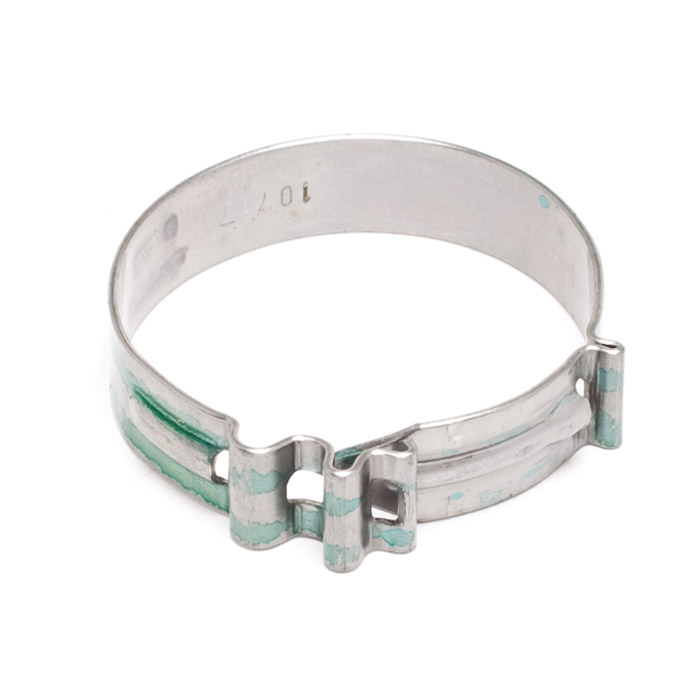 HOSE CLAMP 26mm HEATER & FUEL HOSE CRIMP TYPE