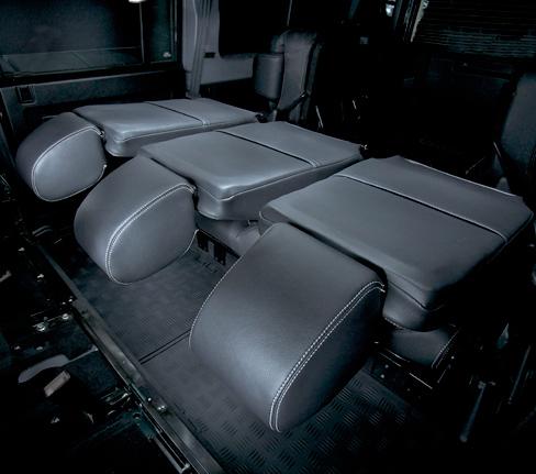 Premium High Back 2nd Row Seat Full Seat Set Diamond