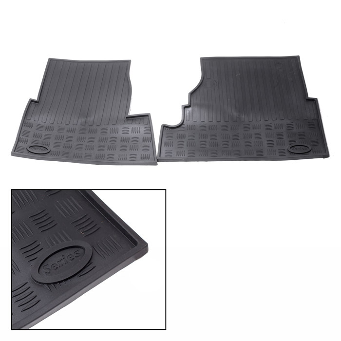 FLOOR MAT SET SERIES II & III FRONT PAIR