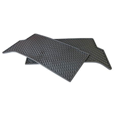 MOULDED FLOOR MATS FOR MIDDLE ROW DISCOVERY II (PAIR)