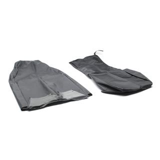 NYLON WATERPROOF SEAT COVER FORWARD FACING FOLD UP SEAT SERIES-DEFENDER BLACK