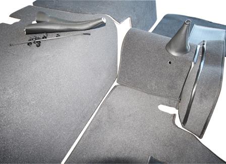 Series Ii Iii 88 Quot Full Vehicle Carpet Set Ebony Premium