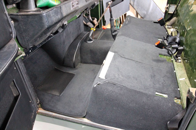 "Range Rover Parts >> SERIES II/III 88"" FULL VEHICLE CARPET SET EBONY (PREMIUM)., EXT021-1 