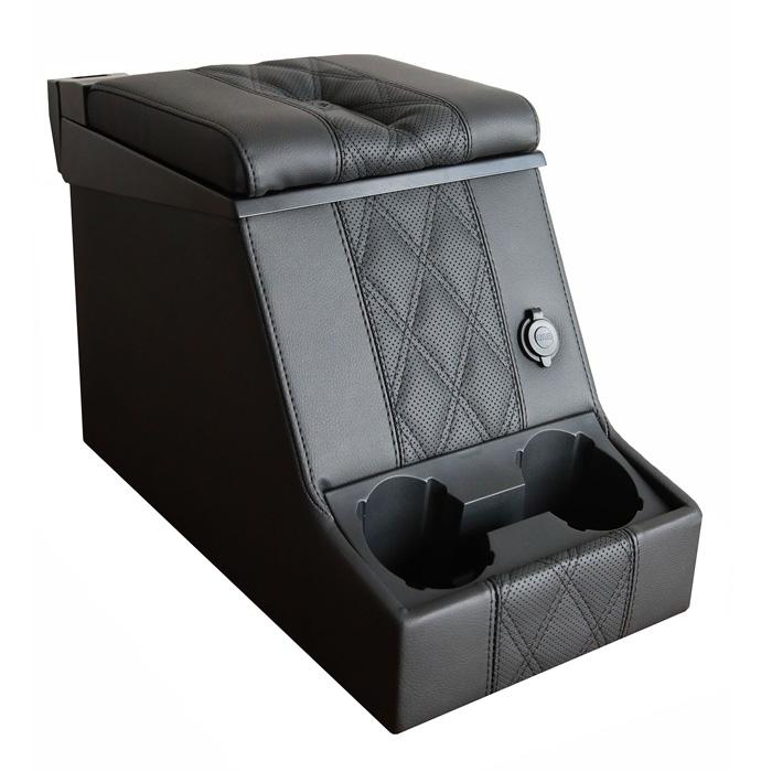 PREMIUM LOCKING CUBBY BOX -DIAMOND BLACK XS