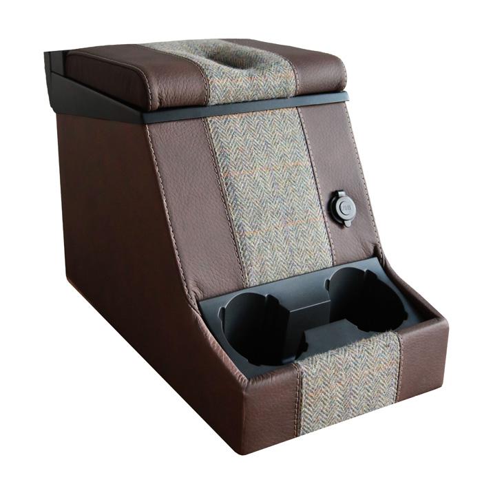 PREMIUM LOCKING CUBBY BOX -HARRIS TWEED