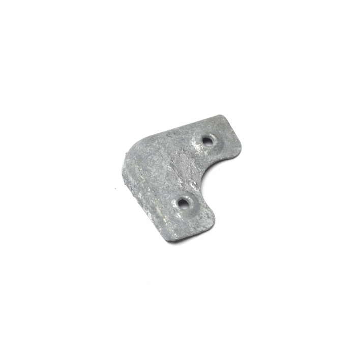 Galvanized Corner Cap For Series Seat Base EXT221-50 | Rovers North - Land  Rover Parts and Accessories Since 1979