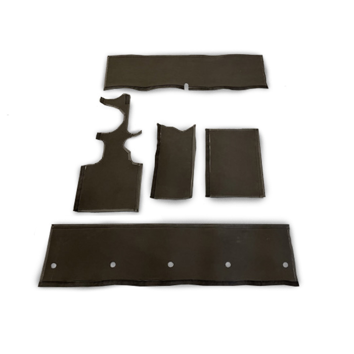 NAS 90 ROLL CAGE PAD PROTECTION KIT, IMPROVED - BLACK