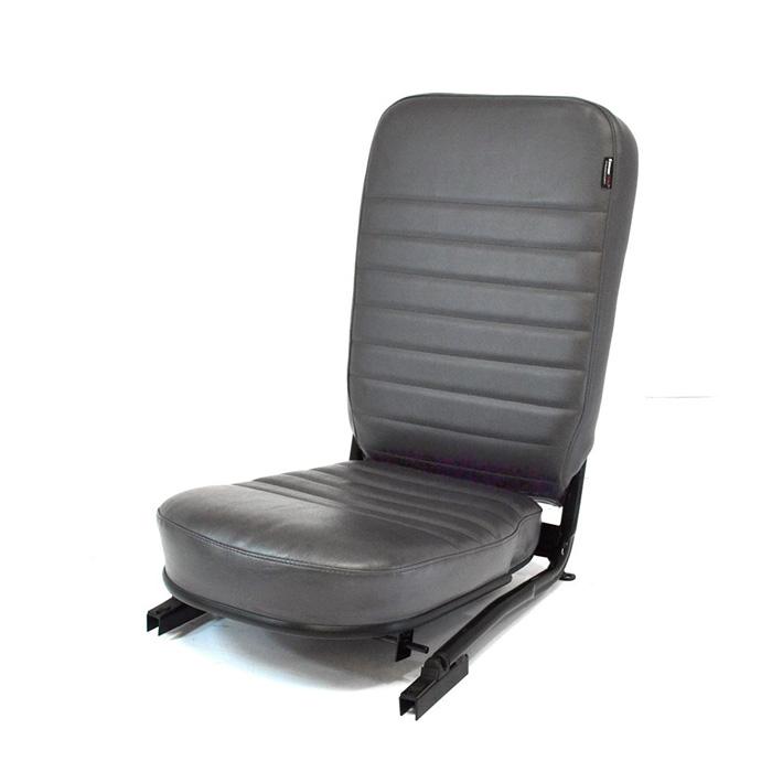 FRONT CENTER SEAT - NO HEAREST - DARK GREY VINYL