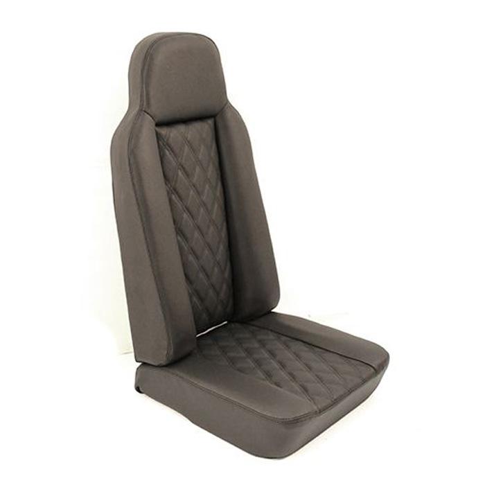 2nd Row High Back Seat - DIAMOND BLACK XS