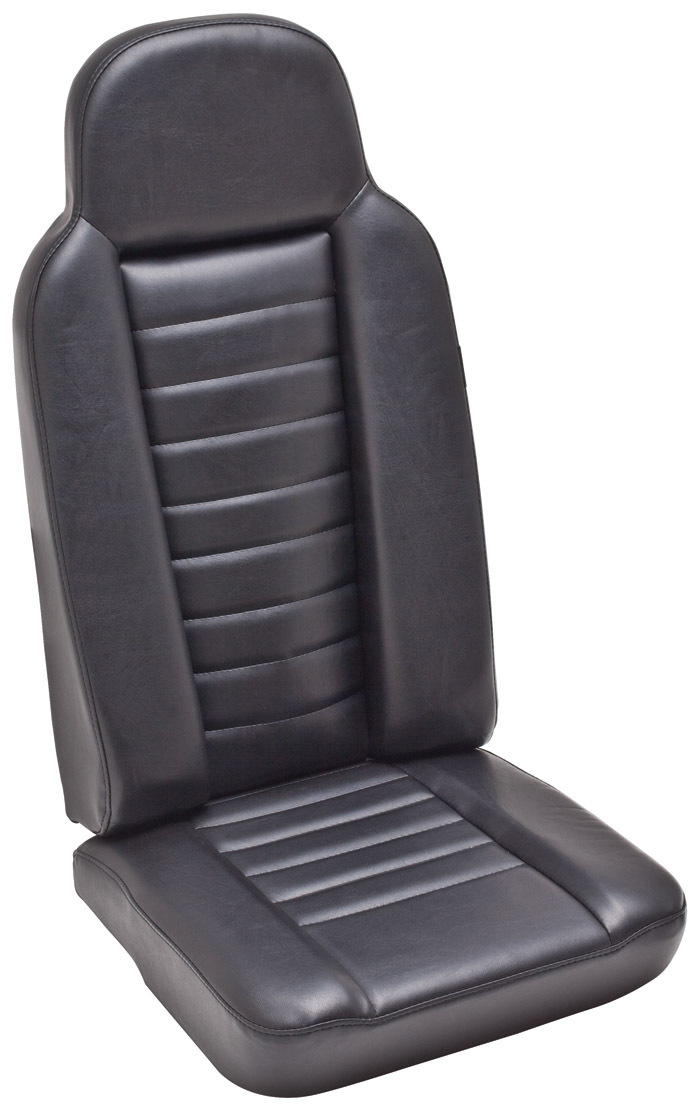 2ND ROW HIGH BACK SEAT - BLACK VINYL